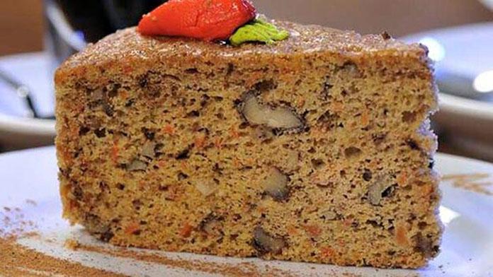 havuçlu kek kaç kalori