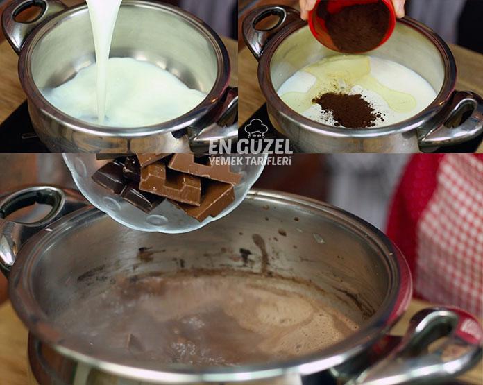 ıslak kek sosu nasıl yapılır
