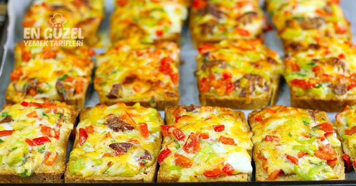 kahvaltılık çıtır ekmek dilimleri tarifi
